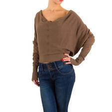 Feine taillenlange Damen-Pullover & -Strickware mit L