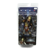 Alien vs Predator AVP Requiem Series 2 Predator Action Figure Unmasked Wolf