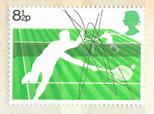 GB 8 1/2p tennis stamp unused - see scan