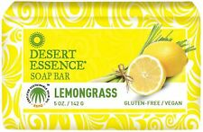 Desert Essence Soap Bar, Lemongrass 5 oz