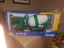 BRUDER #03710 MAN TGS Cement Mixer - New Factory Sealed #3710
