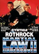 Martial Law 2 - Undercover ( Actionfilm UNCUT ) Cynthia Rothrock, Billy Drago