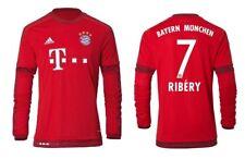 Trikot Adidas FC Bayern 2015-2016 Home Langarm - Ribery [128 bis 3XL] FCB