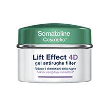 Somatoline Cosmetic Viso 4d Lift Effect Gel Antirughe Filler giorno riempitivo