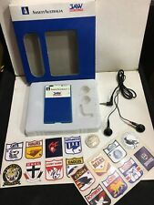 VINTAGE THIN  MICRO RADIO  MW-(AM)  +EARPHONES+BOX+16 Stickers