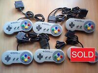 SFC/SNES Official/Genuine Nintendo Super Famicom Controller Pad [SHVC-005]