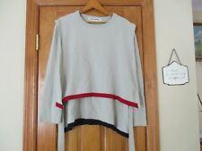 VINTAGE Sonia Rykiel Paris  wool BLEND  sweater sz 42/Med LAYERED