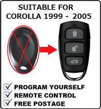Remote Fob Suitable for Toyota Corolla 1999 2000 2001 2002 2003 2004 2005