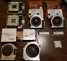 Gaming Notebook Teile. 2x 9800m GTX SLI, Core 2 Duo 3.0ghz, 2x 2GB RAM