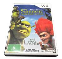 Shrek Forever After The Final Chapter Nintendo Wii PAL Complete Wii U Compatible