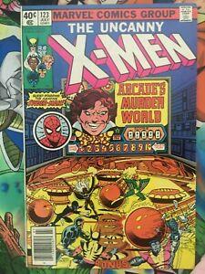 X-Men #123 Byrne / Austin Spiderman appearance VF/NM