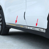 Chrome Side Door Lining Body Molding Trim Cover Protector For Kia Sportage 2017-