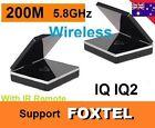 New 5.8GHz Wireless AV Sender IR Remote Transmitter Receiver Support FOXTEL iQ