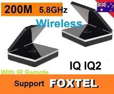 New* 5.8GHz Wireless AV Sender IR Remote Transmitter Receiver Support FOXTEL iQ2