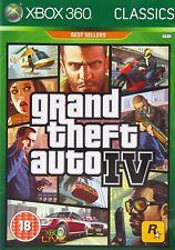 Jeu Xbox 360 - Grand Theft Auto IV - Ed Classics Best Sellers - Complet - PAL UK