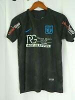 Nike Mens Aeroswift Soccer Training Shirt Sz S Small Blue Light Dri Fit EUC