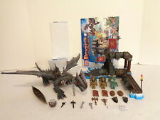 2003 Mega Bloks Dragons Krystal Wars #9883 Sea Dragon Building Set Complete