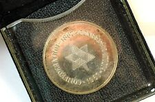 1867-1967 Canada Confederation Silver Medal and pouch