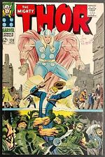 MIGHTY THOR #138 F/VF SWEET  ULIK  SIF,ASGARD+JANE IN PERIL,HOGUN THEGRIM BACKUP