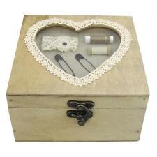 Costurero Corazón Ventana Aspecto Antiguo Sm Lazada 3 Compartimiento