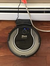 Shark Ion Robot RV750 Robotic Vacuum Cleaner WiFi Black works Great No Reserve