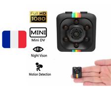 MINI CAMERA CACHÉE HD 3,6 mm VISION NOCTURNE + DÉTECTEUR MOUVEMENTS 1080 P NEUF