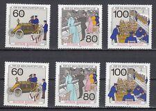 BRD 2 Sätze: 1474 - 1476 postfrisch Wohlfahrt-Geschichte Post Telekommunikation