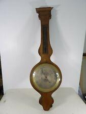 Barometre ancien mercure XIXe époque Restauration Empire Thermometre Reaumur