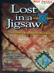 Buffalo Games Lost in a Jigsaw Maze Escape from Eden puzzle 500+ piece SOLUTION
