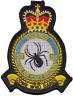 N.58 Squadrone Raf Reggimento Royal Air Force Modulo Stemma Patch Ricamato