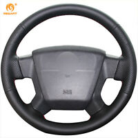 Leather Steering wheel Cover for Jeep Compass 2006-10 Patriot 2007-10 #JP02