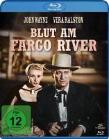 BLUT AM FARGO RIVER (JOHN WAYNE)  - WAYNE,JOHN   BLU-RAY NEU