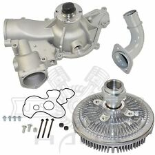 Engine Water Pump + Fan Clutch Kit for Ford Excursion F-250 F-350 7.3L Diesel V8