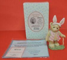 2007 Cherished Teddies Toni Cream Bunny Easter Bear Figurine 4009175