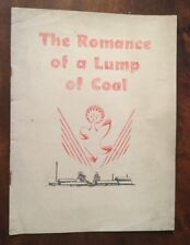 c1931 - The Romance Of A Lump Of Coal.