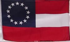 FIRST NATIONAL - DIXIE FLAG - NEW CIVIL WAR - 1ST - DIXIE - 13  STARS & BARS