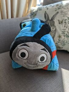 Thomas The Tank Engine Pillow Pet Cushion Cuddly Toy Train Red Blue