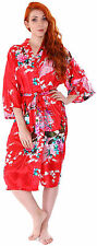 Sexy Women Grown Sleep Ware Lace Sleepwear Nightdress Robes Pajamas Red