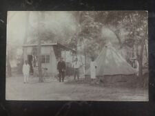 1912 Belgian Congo Real Picture Postcard Cover RPPC To South Wales UK