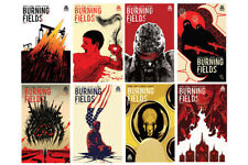 Burning Fields  #1 to #8 - Boom! Studios Complete Comic Series
