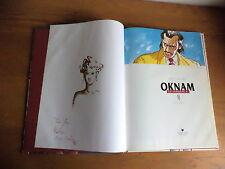 Edition original avec dédicace Oknam T.5 dossier M.I.A. par Roels-Renard