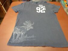 Abercrombie & Fitch New York  92   T-Shirt Size 2XL  Muscle Tee  Moose Graphic