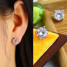 Crystal Acrylic Unbranded Clip - On Costume Earrings