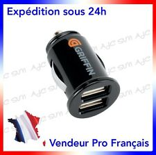 Apple Iphone / 3,4,5,6 Samsung  S3 S4 S5 Chargeur Allume Cigare Double Port Usb