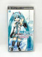 Sony Psp PLAYSTATION Portable - Hatsune Miku: Project Diva Extend Japon Version