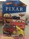 Disney Pixar Cars Hot Wheels Hiway Hauler Mattel 1.64 Scale BNIB
