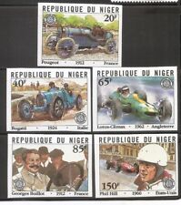 Niger / Racing Cars . Imperforated . MNH