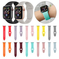 Sport Silikon Uhrenarmband für Apple Watch Serie 4 3 2 1 40mm 44mm iWatch neue.