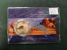 2006 1 oz Silver Kangaroo