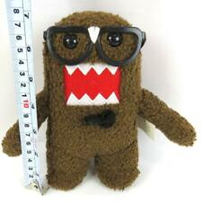 """Domo Brown Nerd With Glasses Plush Doll 7"""" Tall"""